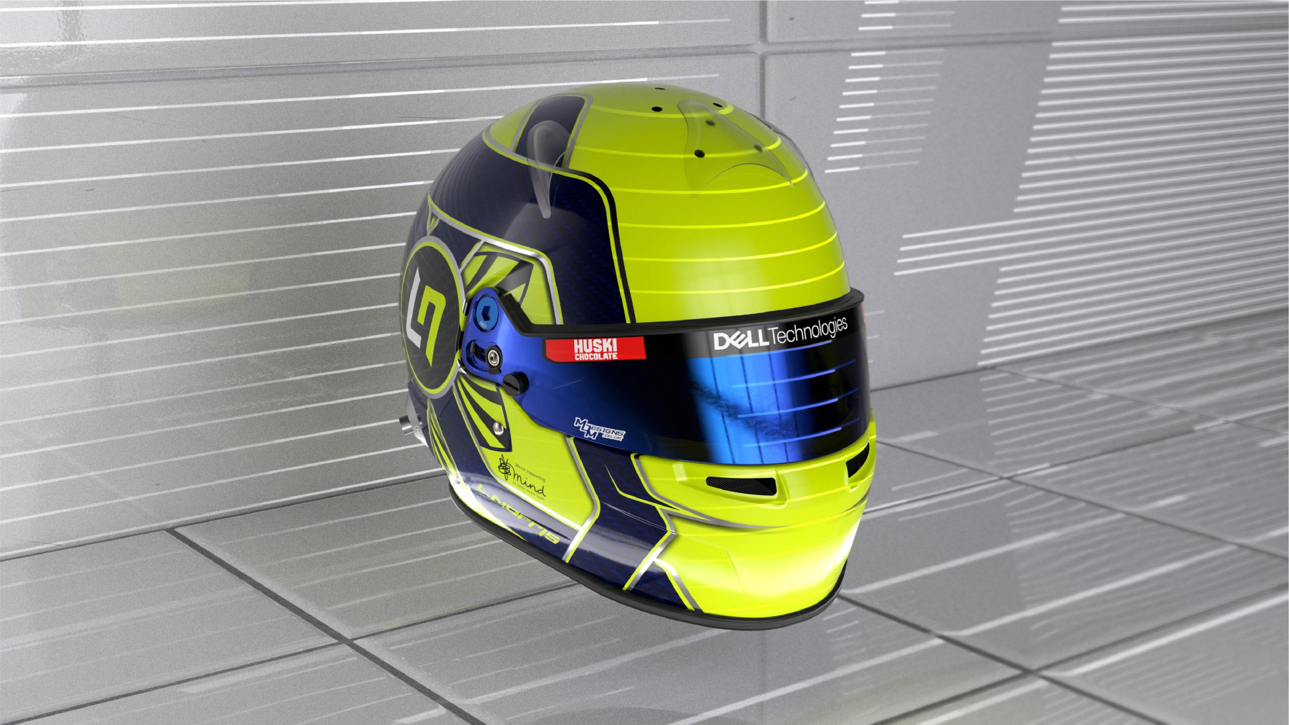 Formel 1 Helm 2021 Norris