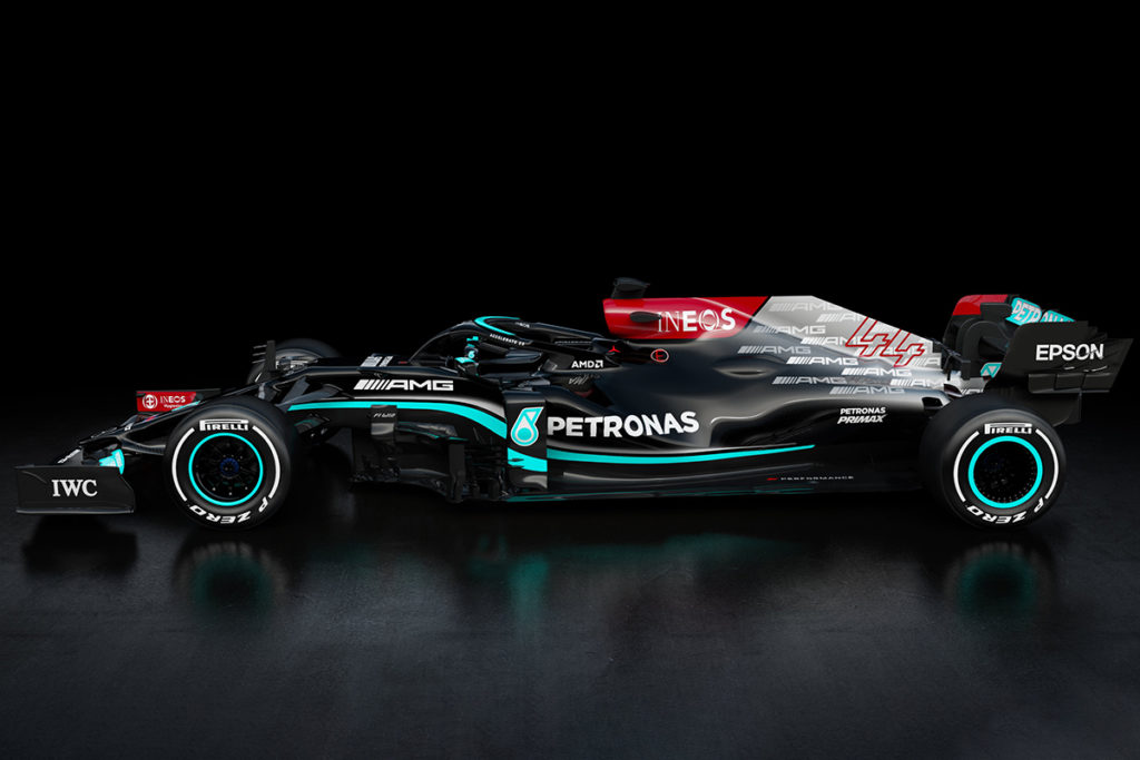 Der Mercedes AMG F1 W12 E Performance Credit: Mercedes