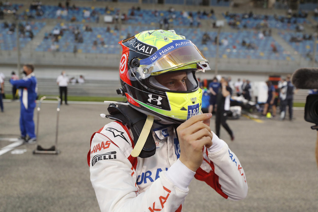 Formel 1 Mick Schumacher Haas Bahrain GP Startaufstellung 2021