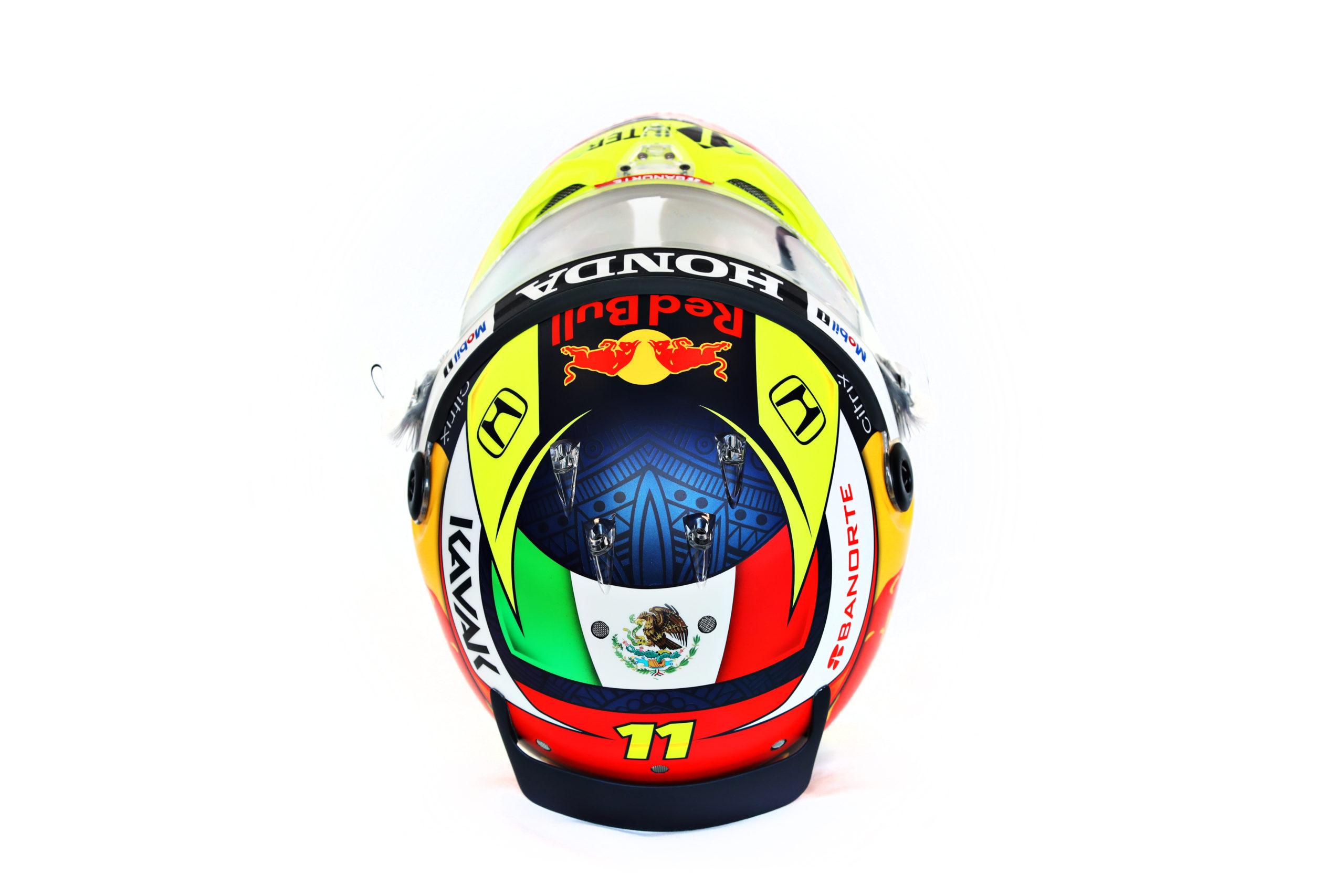 Formel 1 Helm 2021 Perez