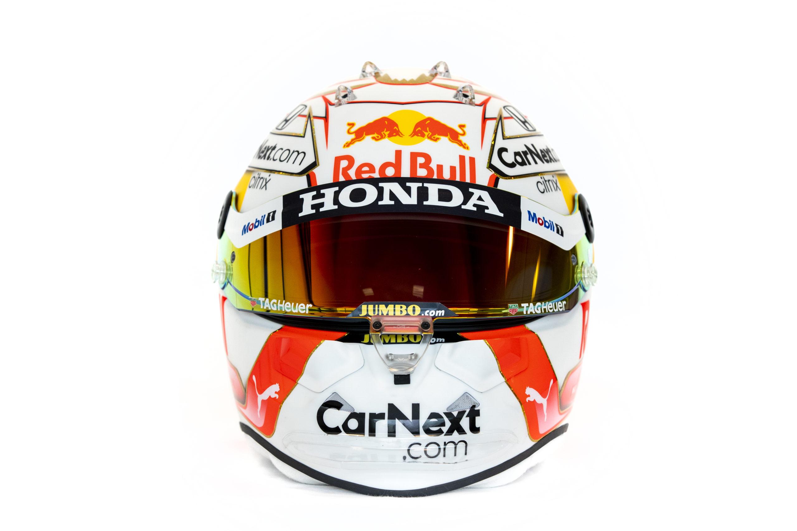 Formel 1 Helm 2021 Verstappen