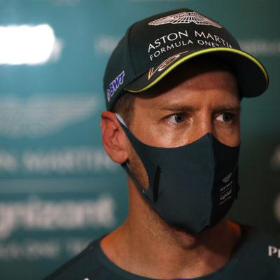 Formel 1 Sebastian Vettel Bahrain GP 2021 Portrait