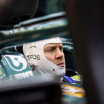 Sebastian Vettel Aston Martin Rollout. Credit: Aston Martin F1