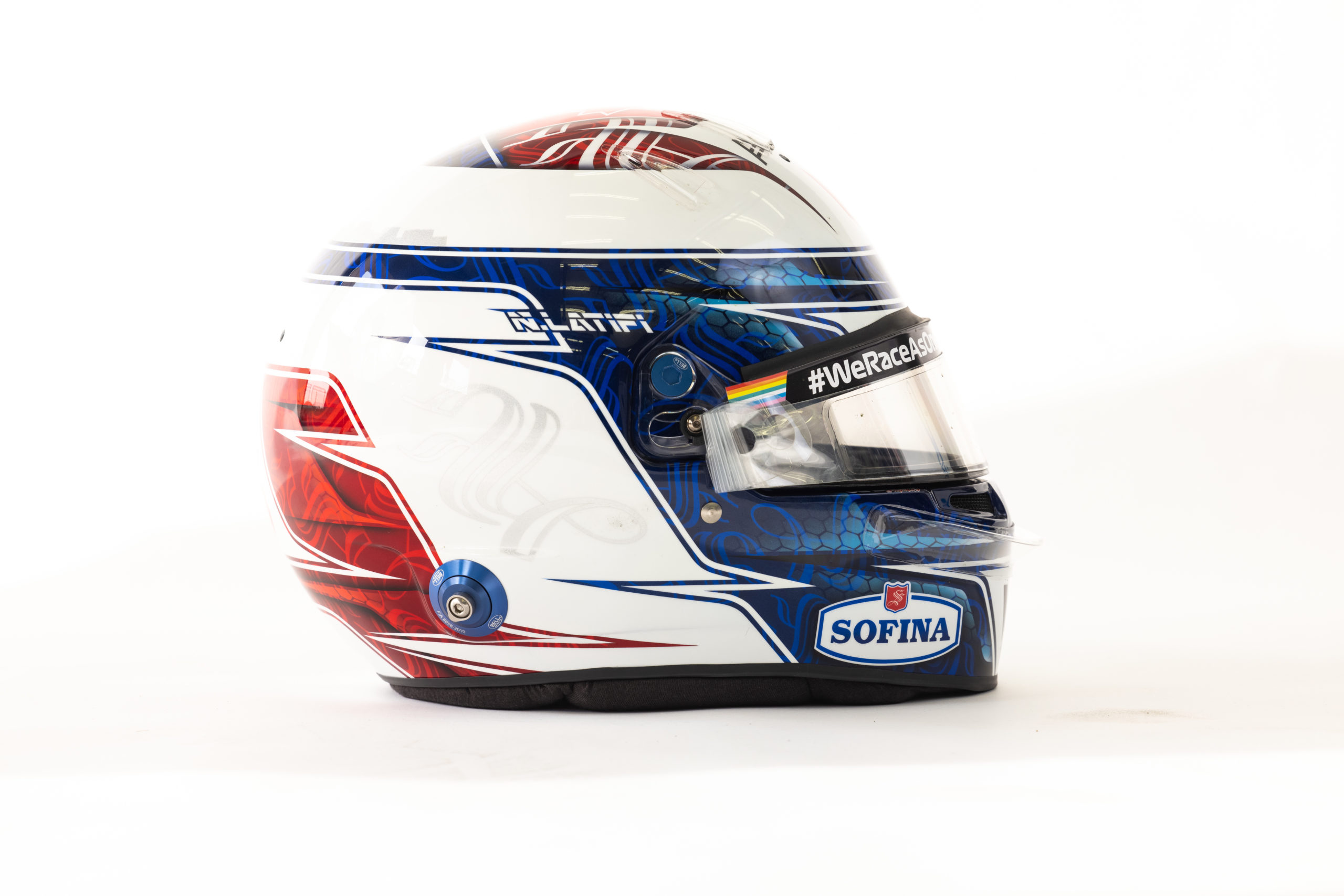 Formel 1 Helm 2021 Latifi
