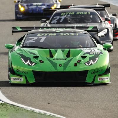 DTM Test 2021 Lamborghini