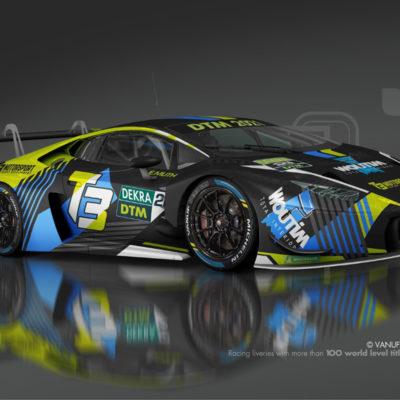 DTM Lamborghini Huracan GT3 Evo T3 Motorsport 2021