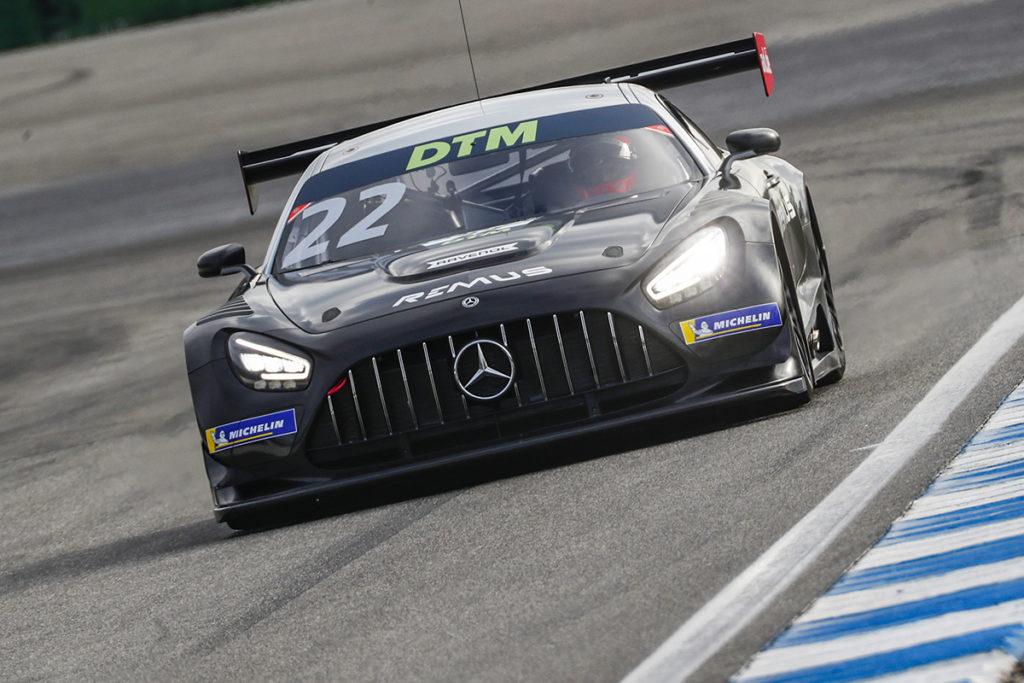 Lucas Auer Mercedes GT3 Test Hockenheim 2021