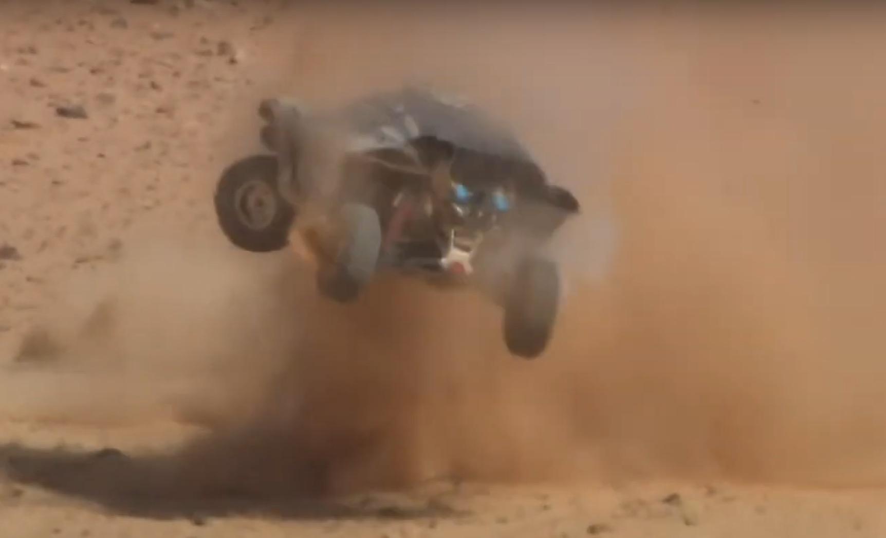 Extreme E Abt Hürtgen Crash