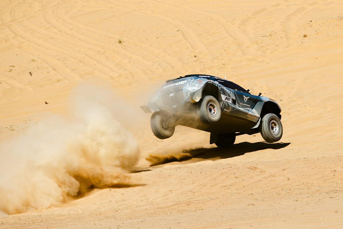 Extreme E Saudi Arabia 2021 Action