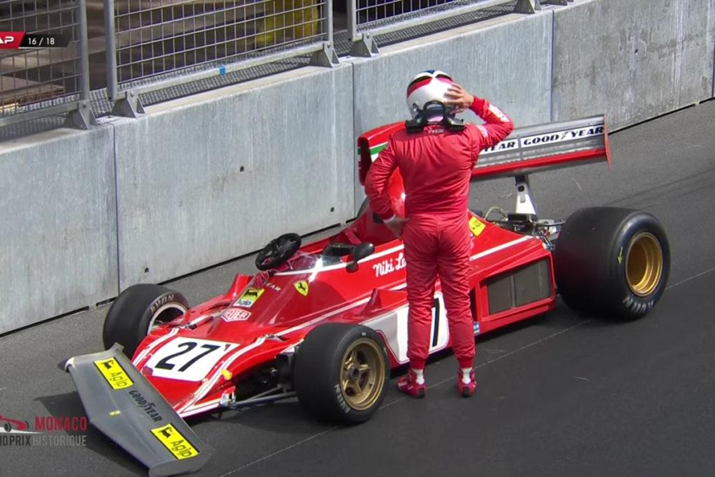 Formel 1 Alesi Lauda Ferrari Monaco Crash 2021