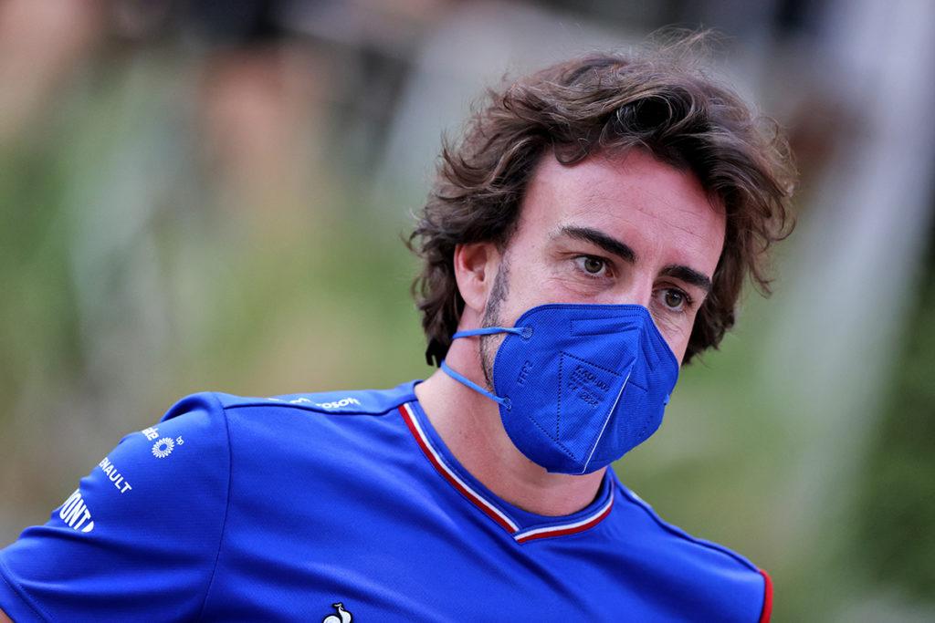 Formel 1 Fernando Alonso Credit: Alpine
