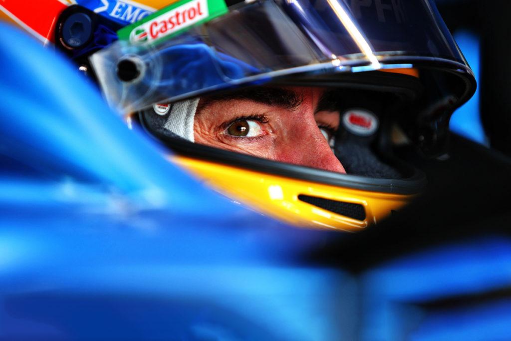 Formel 1 Fernando Alonso Alpine 2021