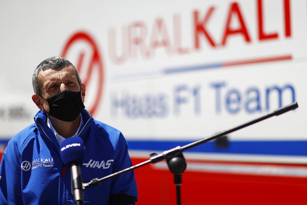 Formel 1 Günther Steiner Haas Portugal GP 2021