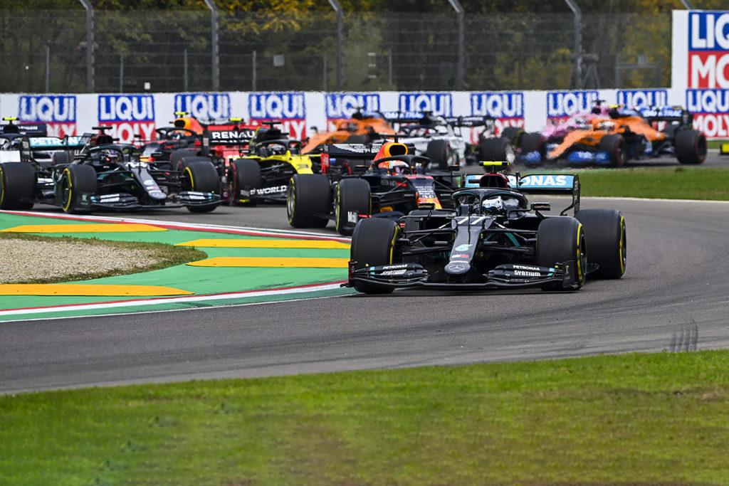 Formel 1 Imola Start 2021