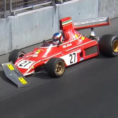 Formel 1 Lauda Ferrari Alesi Crash 2021