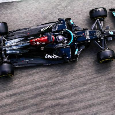 Formel 1 Lewis Hamilton Mercedes Imola FP3 2021