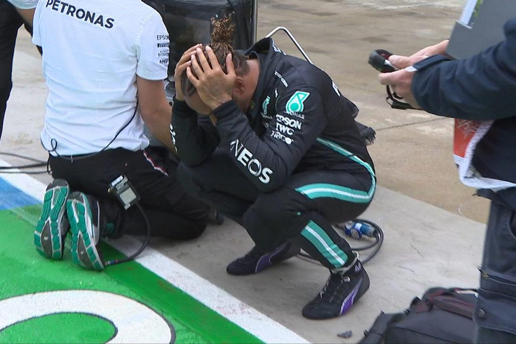 Formel 1 Lewis Hamilton Mercedes Imola GP 2021