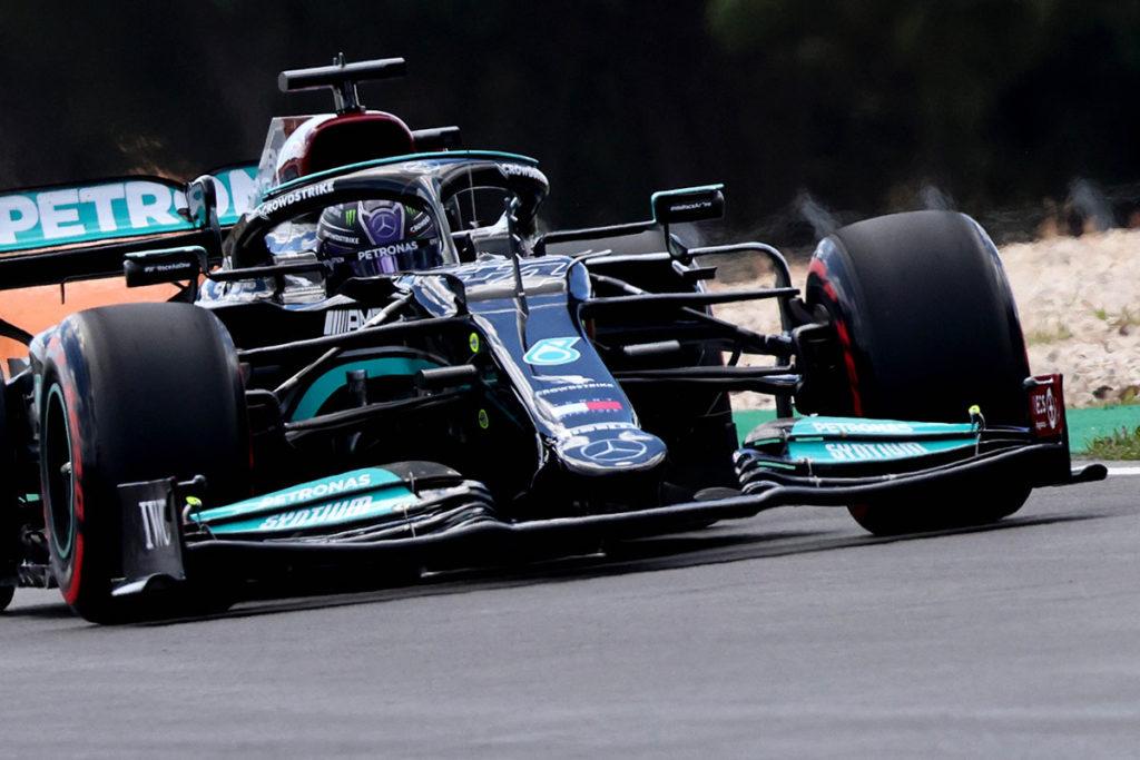 Formel 1 Lewis Hamilton Mercedes Portugal GP 2021 FP2