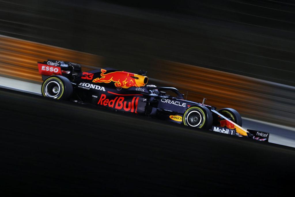 Formel 1 Max Verstappen Bahrain GP 2021 Action