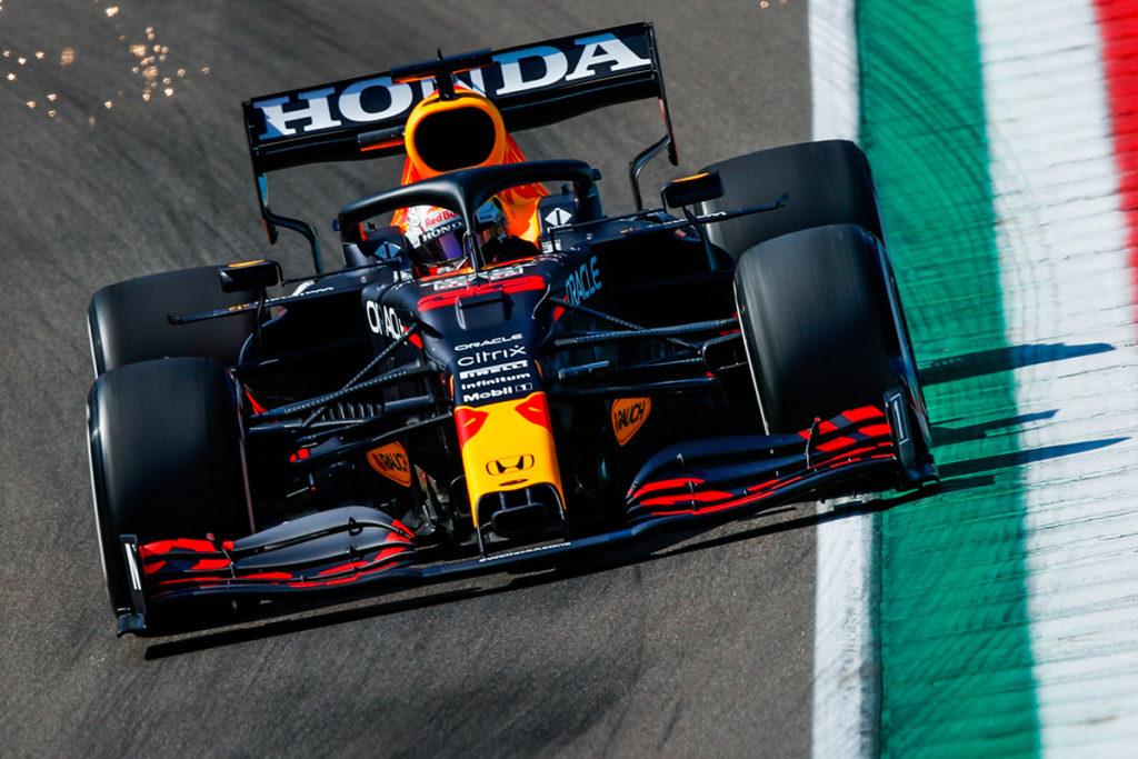 Formel 1 Max Verstappen Imola FP3 2021