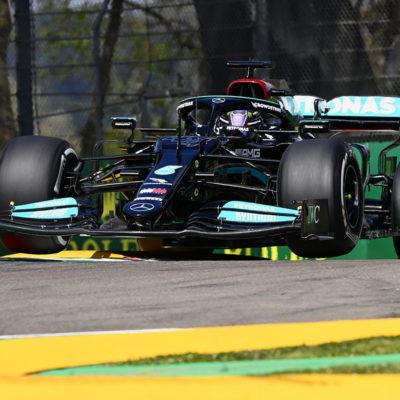 Formel 1 Lewis Hamilton Mercedes Imola 2021