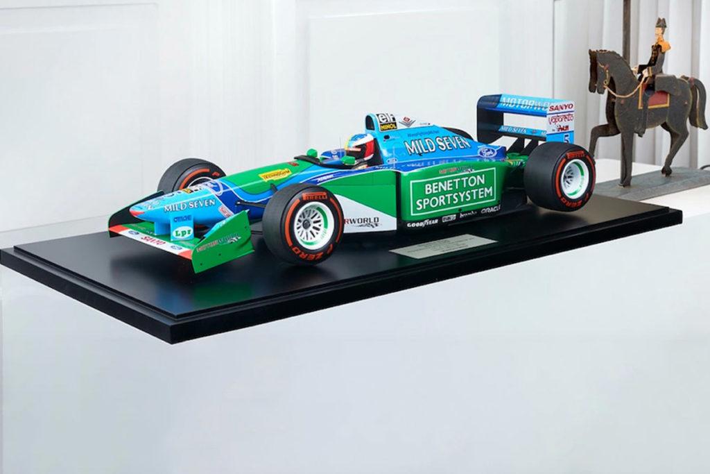 Formel 1 Mick Schumacher Benetton Miniatur Modell Fanartikel