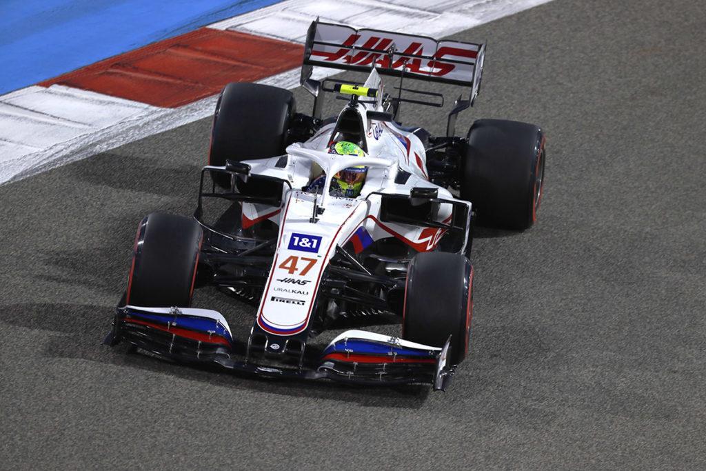 Formel 1 Mick Schumacher Haas Bahrain GP 2021