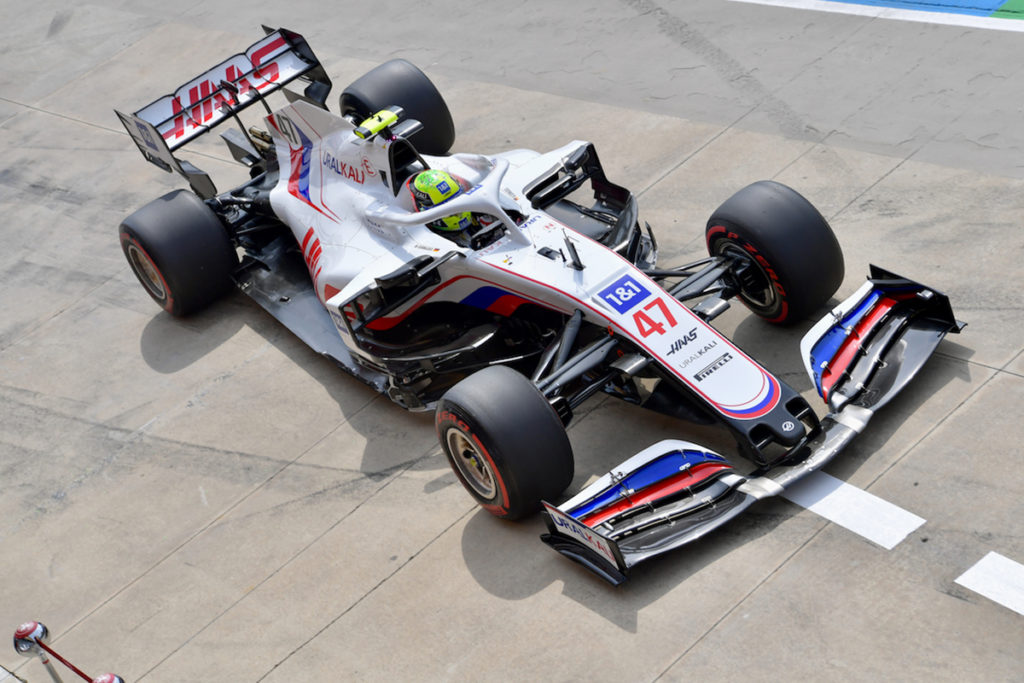 Formel 1 Mick Schumacher Haas Imola FP3 2021 01