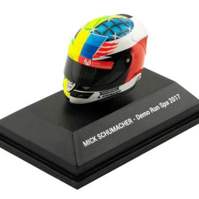 Formel 1 Mick Schumacher Spa 2017 Mini Helm Fanartikel