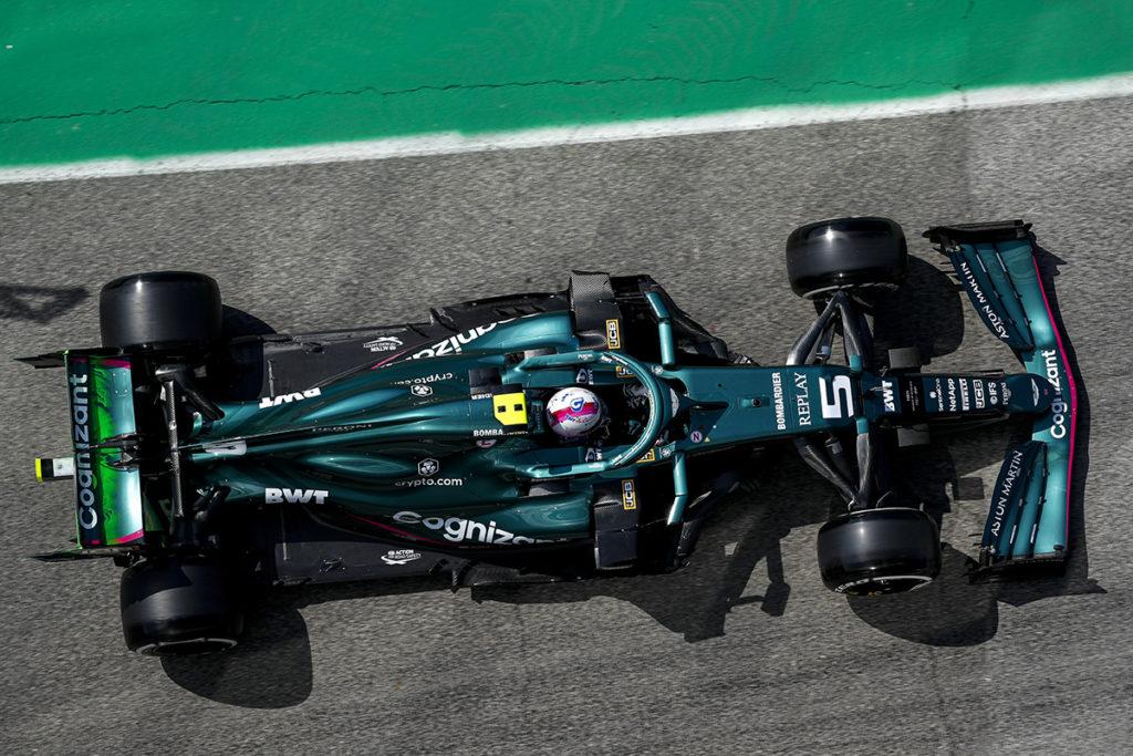 Formel 1 Sebastian Vettel Imola GP Aston Martin 2021