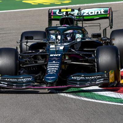 Formel 1 Sebastian Vettel Aston Martin Imola GP 2021