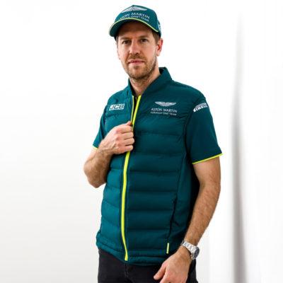 Formel 1 Sebastian Vettel Aston Martin Weste Fanartikel 2021