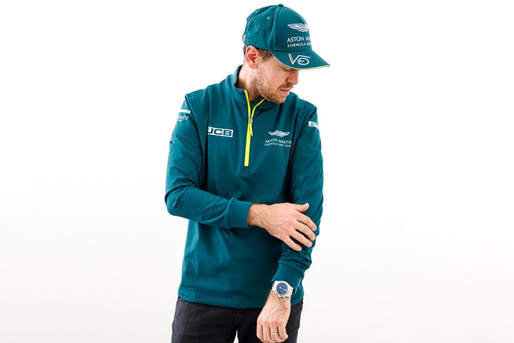 Formel 1 Sebastian Vettel Aston Martin Sweatshirt 2021