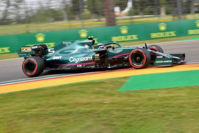 Formel 1 Sebastian Vettel Imola 2021 Quali