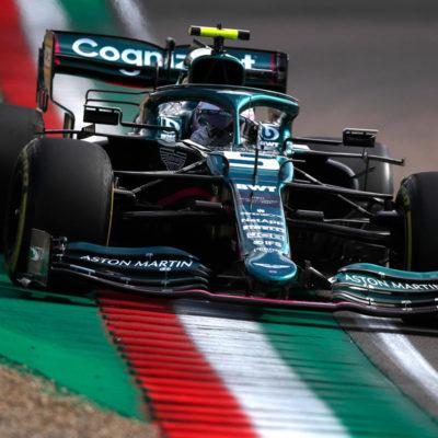 Formel 1 Sebastian Vettel Aston Martin Imola GP 2021 Race