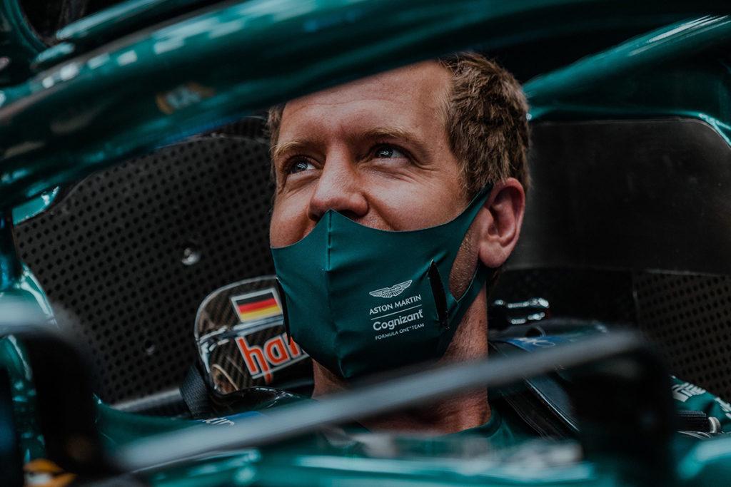 Formel 1 Sebastian Vettel Portugal GP Aston Martin 2021