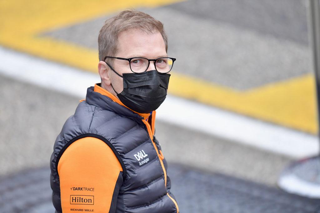 Formel 1 Seidl McLaren Imola 2021