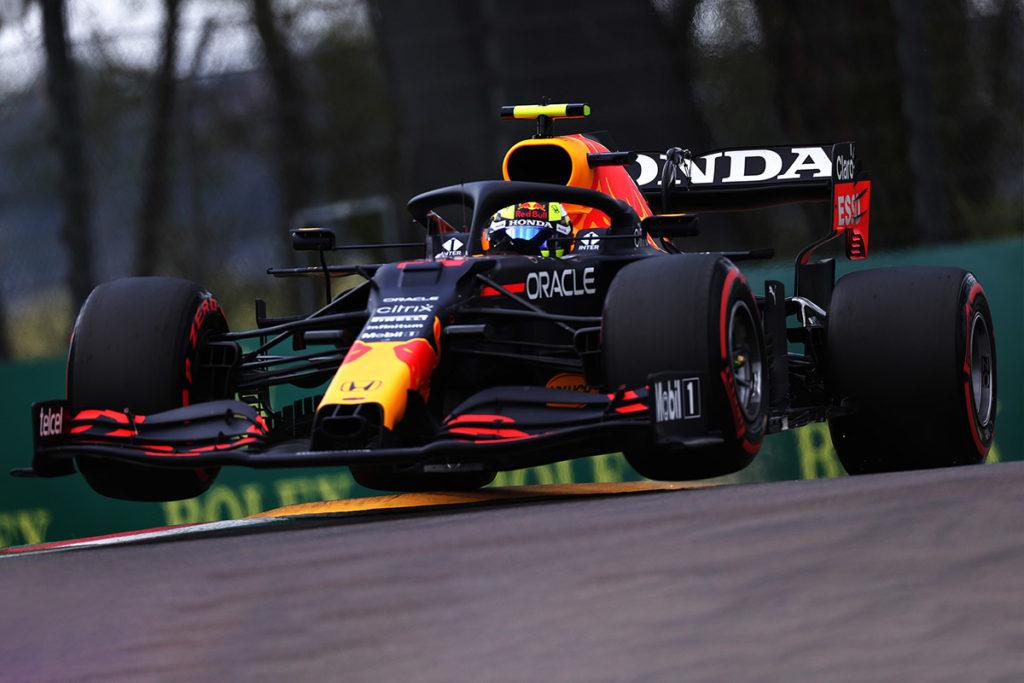 Formel 1 Sergio Perez Red Bull Imola GP 2021