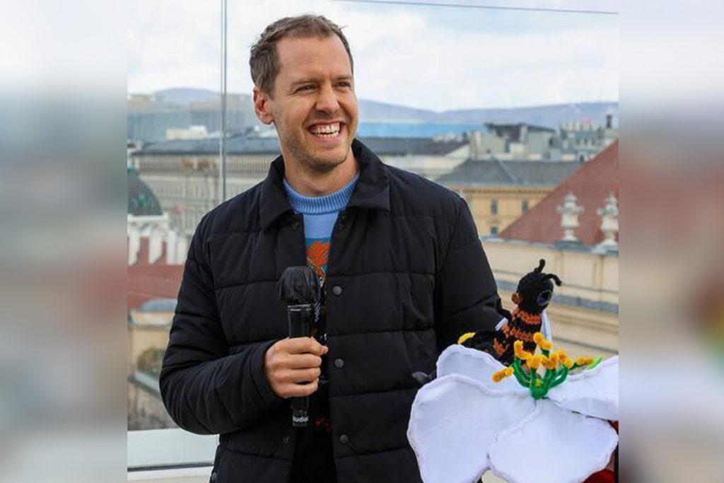 Formel 1 Sebastian Vettel BioBieneApfel