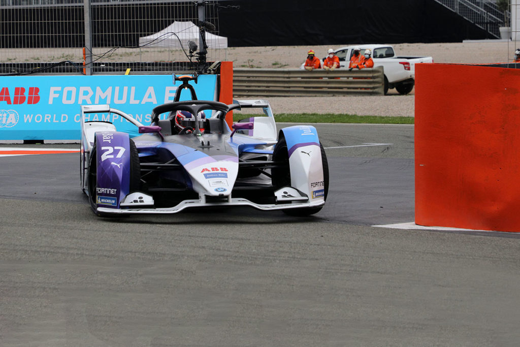 Formel E BMW Jake Dennis Valencia ePrix 2021
