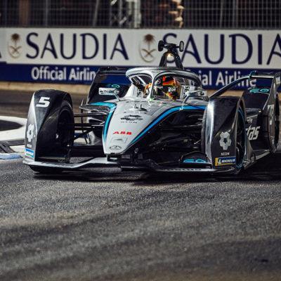 Formel E Mercedes. Credit: Stephen Reuß