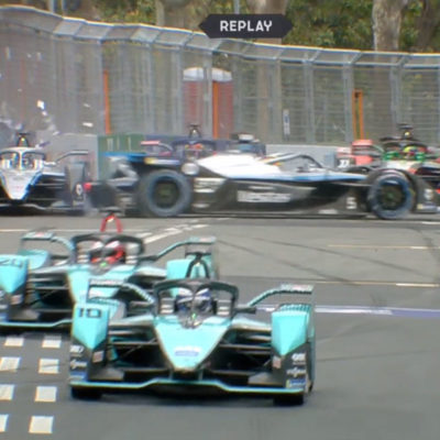 Formel E Rom ePrix Mercedes Unfall 2021