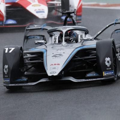 Formel E Mercedes Nick de Vries Valencia ePrix 2021