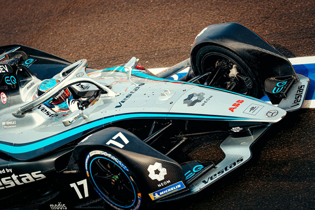 Formel E Mercedes Nyk de Vries Valencia ePrix 2021