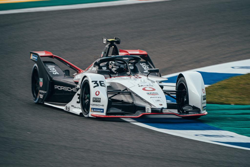 Formel E Porsche Andre Lotterer Valencia ePrix 2021