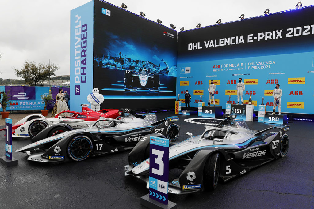 Formel E Valencia ePrix 2021