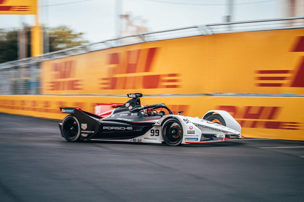 Formel E Porsche Rom ePrix Pascal Wehrlein 2021