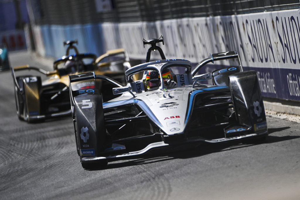 Formel E Mercedes 2021 Riad