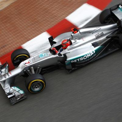 Formel 1 Michael Schumacher Mercedes Monaco 2012