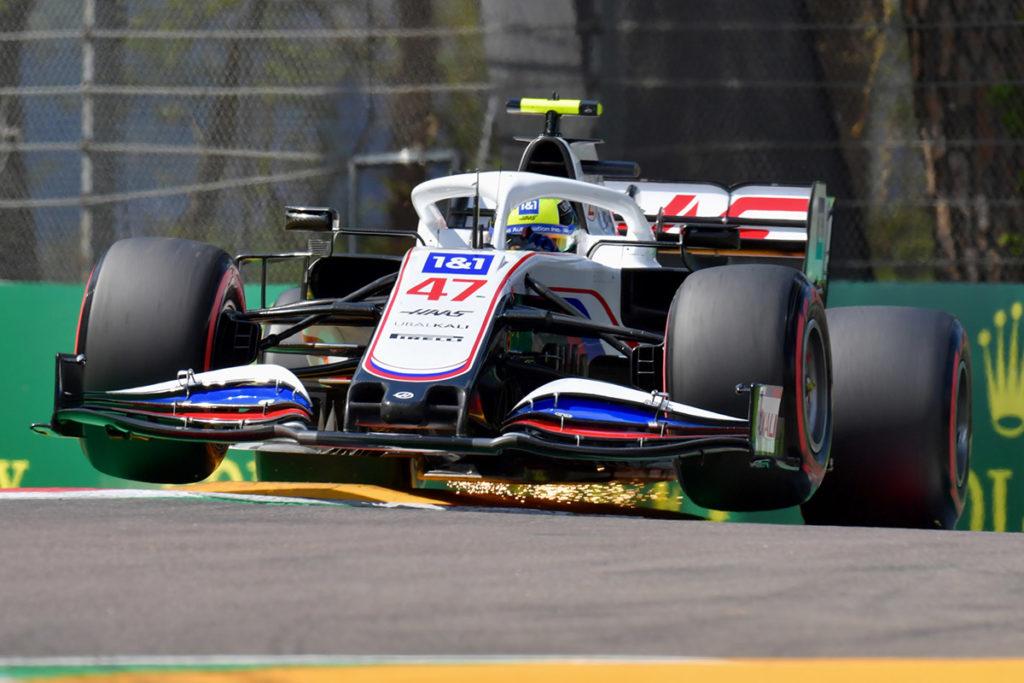 Mick Schumacher Formel 1 Haas Imola 2021